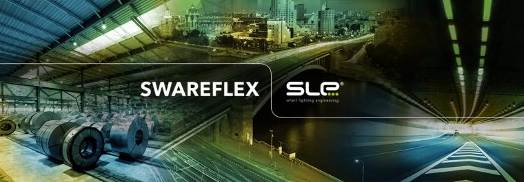 SWAREFLEX and SLE join forces for new top quality industry, street and tunnel lighting solutions