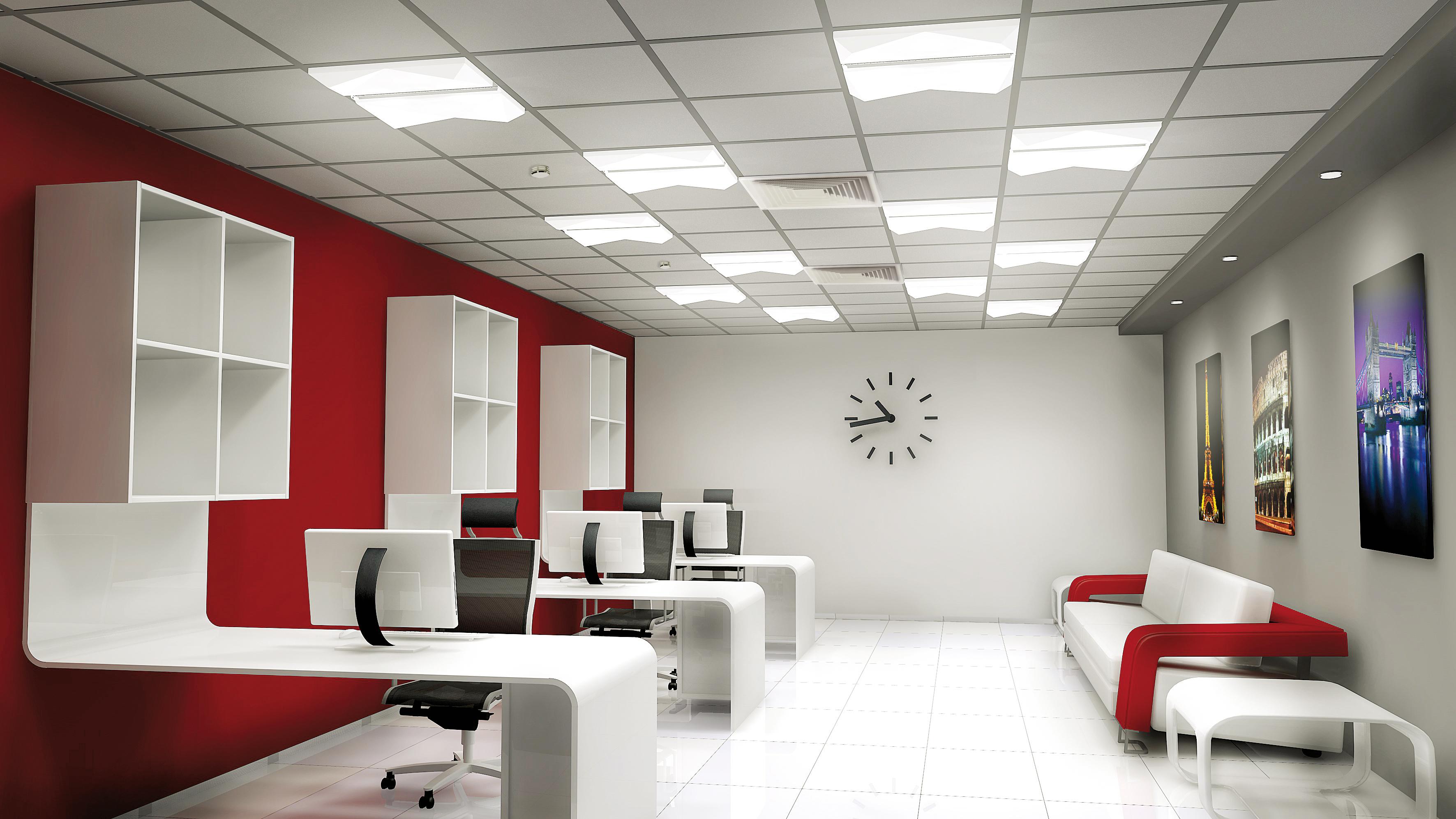 The Illumination Of Room Surfaces Smart Lighting Engineering