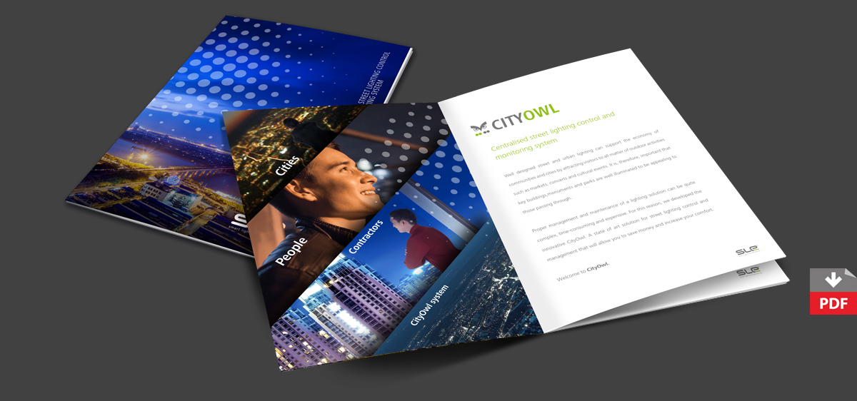 Download the pdf version of Intelligent Roads with CityOwl brochure