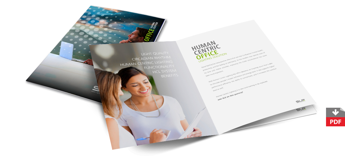 Download the pdf version of Human Centric Office brochure