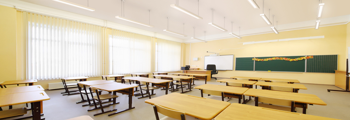 Modern Middle School Classroom ~ Modern light in schools smart lighting engineering