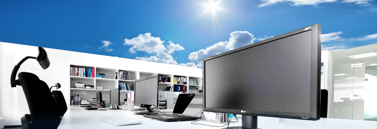 High colour fidelity and colour rendering quality in offices