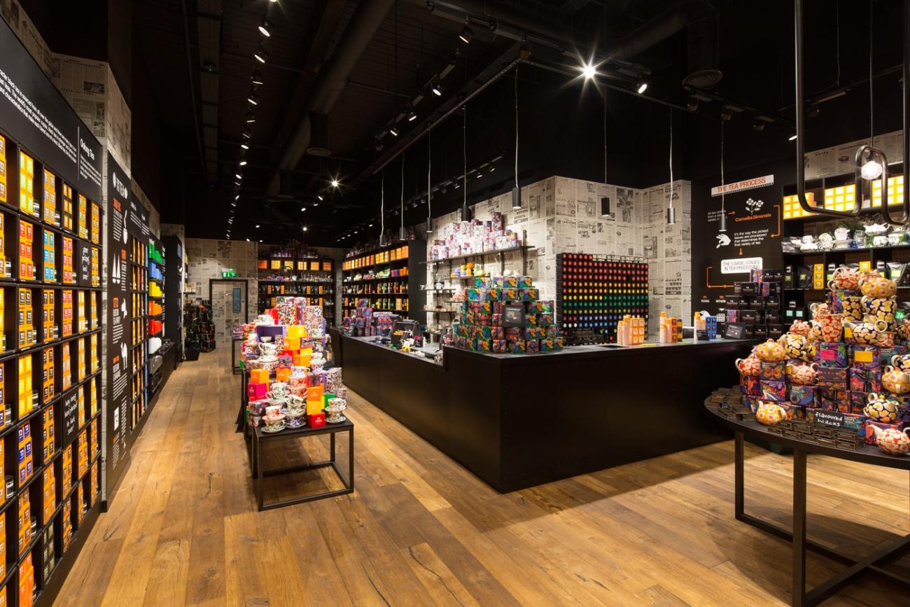 T2 Tea Shop References Smart Lighting Engineering